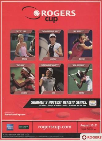 Rogers Cup - Women's Tennis